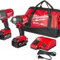 Milwaukee 2 PC M18 FUEL Auto Kit – 1/2″ Impact Wrench and 3/8″ Impact Wrench